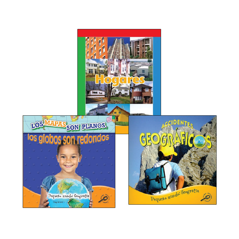 Kindergarten Spanish Social Studies Variety Pack: Geography