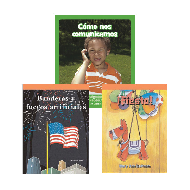 Kindergarten Spanish Social Studies Variety Pack: Now & Then