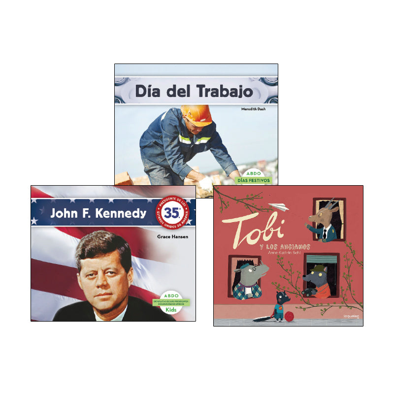 Social Studies Read Alouds - Kindergarten (Spanish): Variety Pack