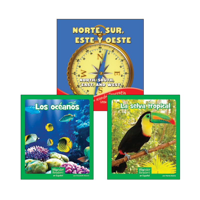 First Grade Spanish Social Studies Variety Pack: Geography