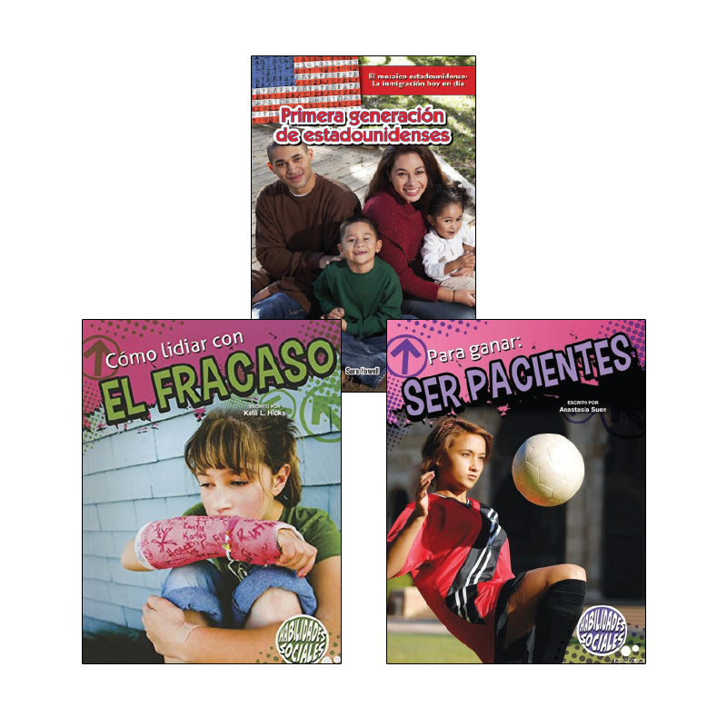 Third Grade Spanish Social Studies Variety Pack: Civics and Government