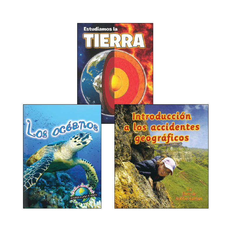 Third Grade Spanish Social Studies Variety Pack: Geography