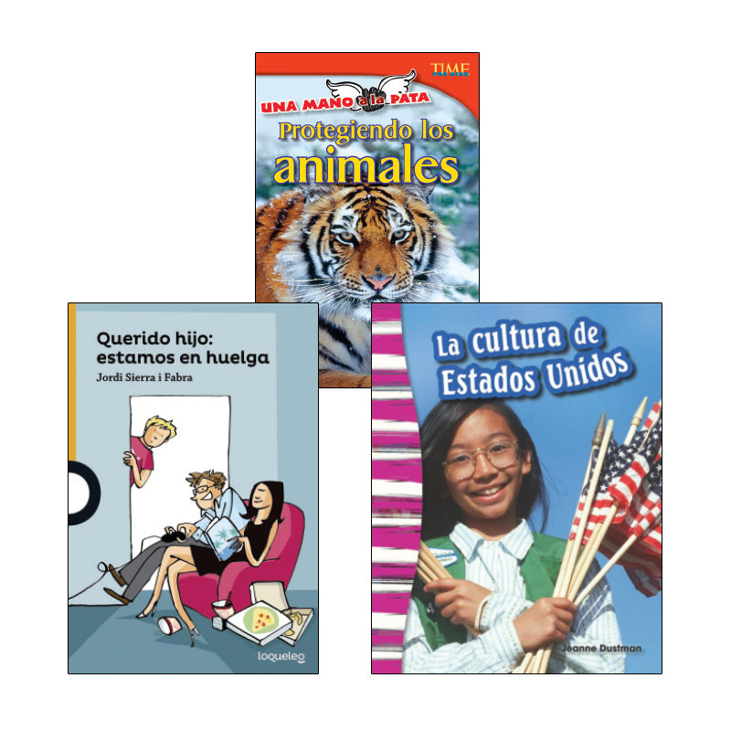 Fourth Grade Spanish Social Studies Variety Pack: Civics and Government