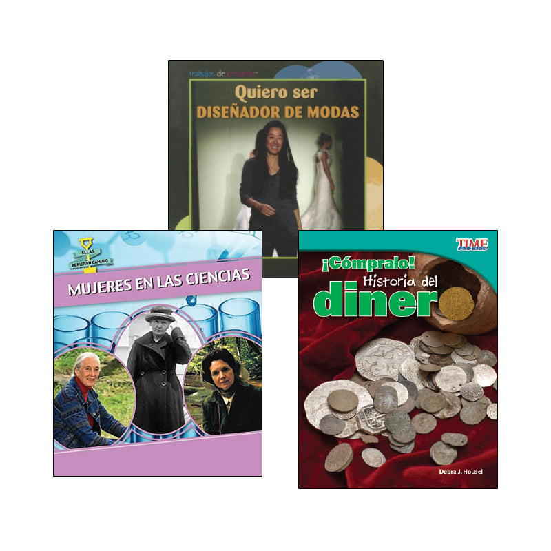 Fourth Grade Spanish Social Studies Variety Pack: Economics