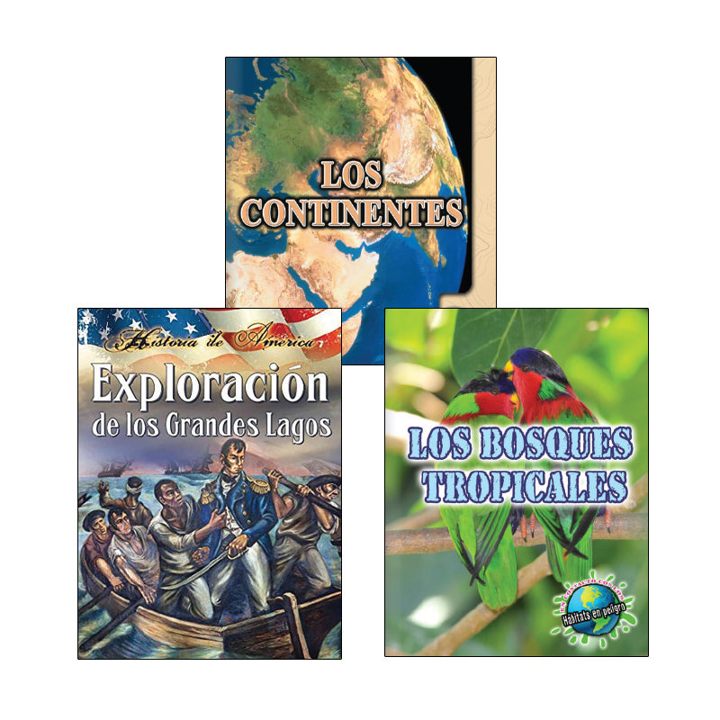 Fourth Grade Spanish Social Studies Variety Pack: Geography