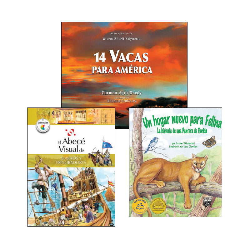 Social Studies Read Alouds - Grade 4 (Spanish): Variety Pack