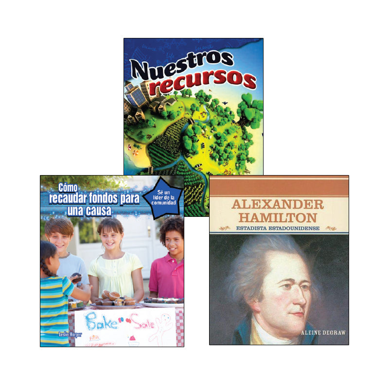 Fifth Grade Spanish Social Studies Variety Pack: Economics