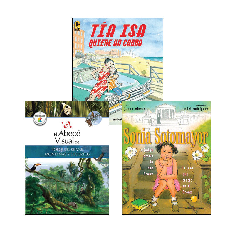 Social Studies Read Alouds - Grade 5 (Spanish): Variety Pack