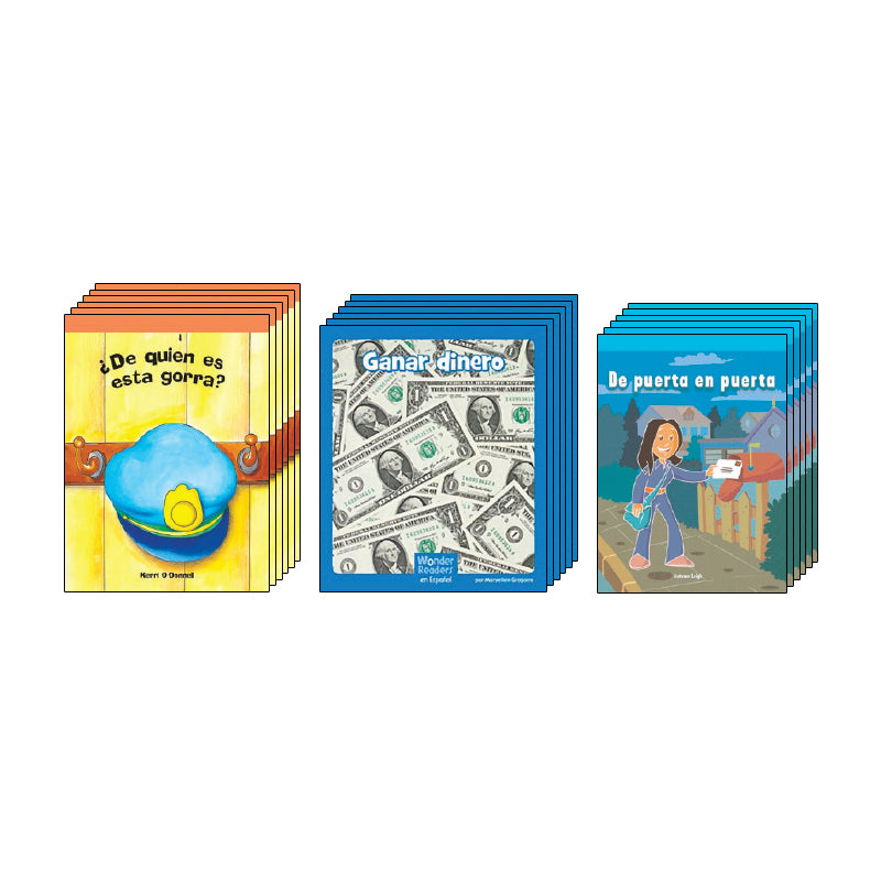 Kindergarten Spanish Social Studies Class Pack: Economics