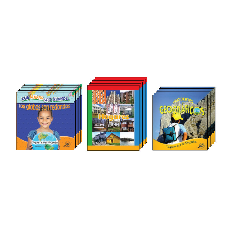 Kindergarten Spanish Social Studies Class Pack: Geography