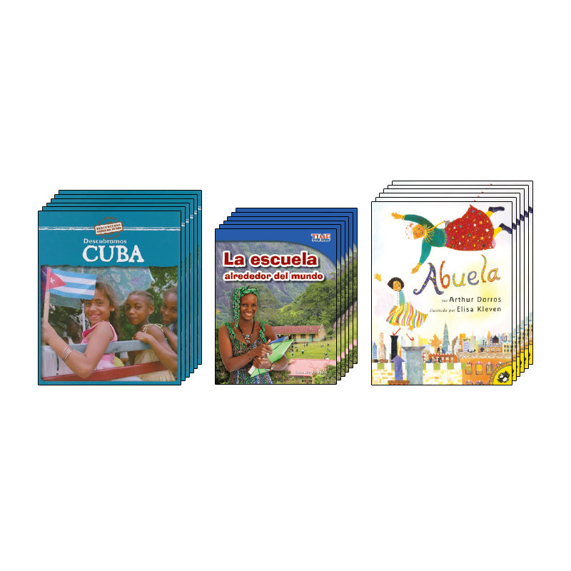 Second Grade Spanish Social Studies Class Pack: Geography