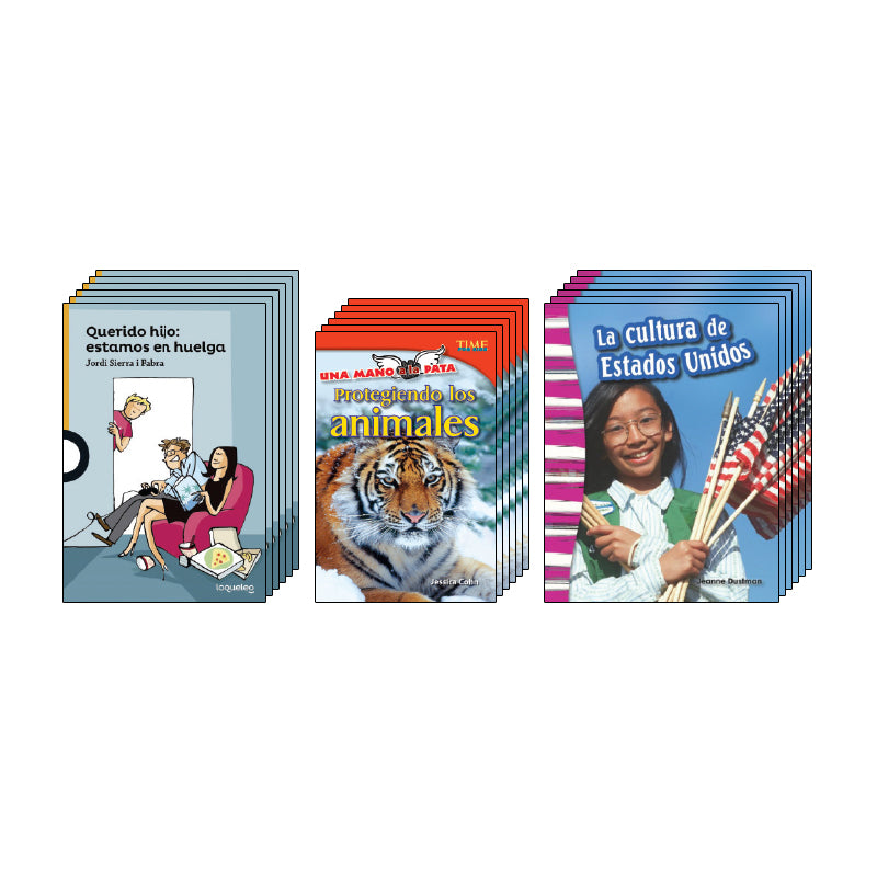 Fourth Grade Spanish Social Studies Class Pack: Civics and Government