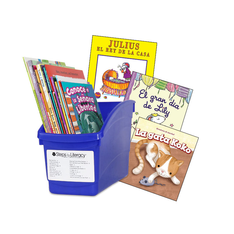 Units of Study - Kindergarten Spanish 600: Classroom Library