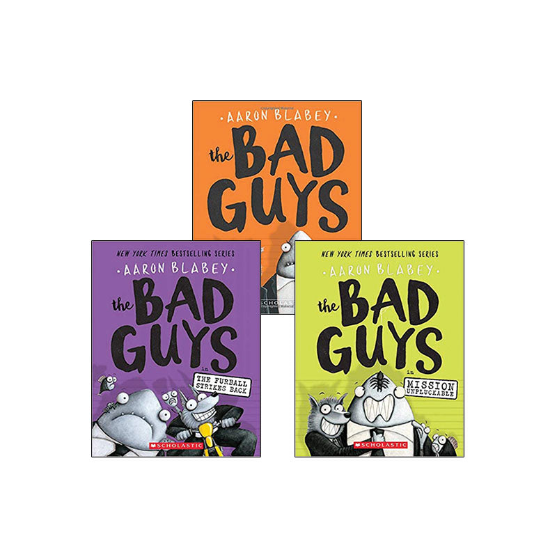 The Bad Guys: Variety Pack