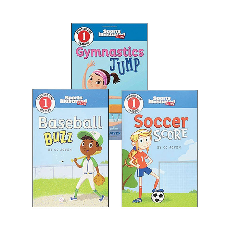 Sports Illustrated Kids Starting Line Readers: Variety Pack