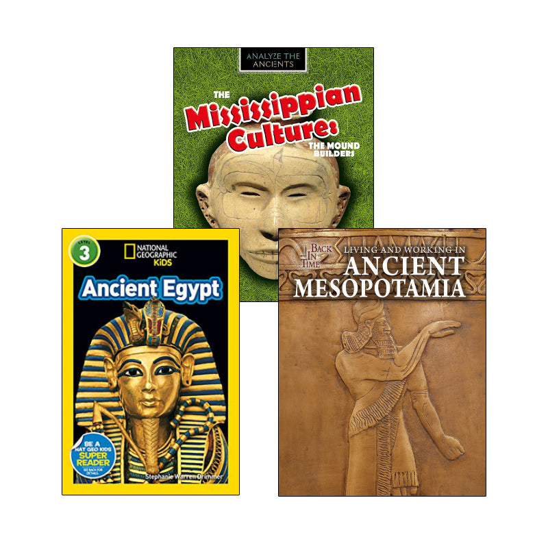 Ancient Civilization - Informational Texts: Variety Pack