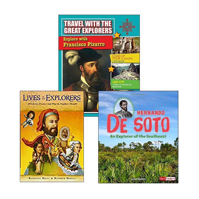 Exploration & Native Americans - Biographies: Variety Pack