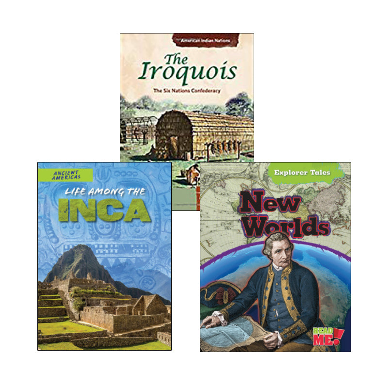 Exploration & Native Americans- Informational Texts: Variety Pack