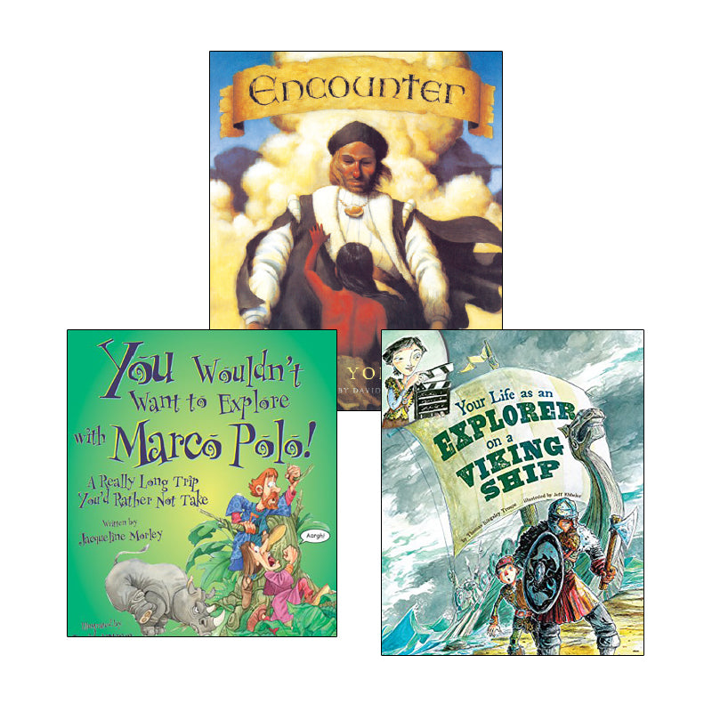 Exploration & Native Americans - Narrative Nonfiction & Historical Fiction: Variety Pack