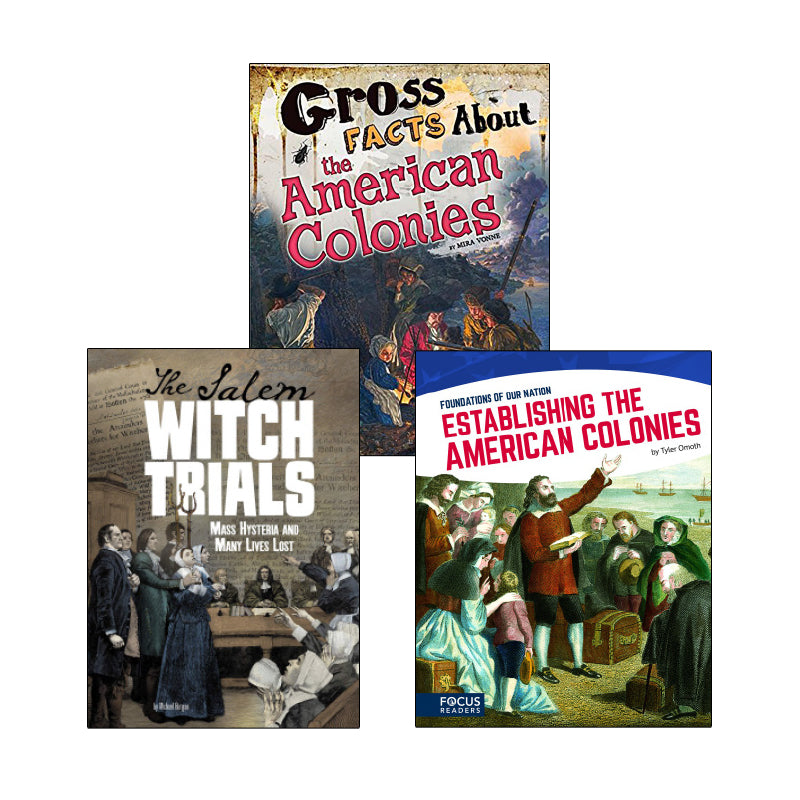 Colonial America - Informational Texts: Variety Pack
