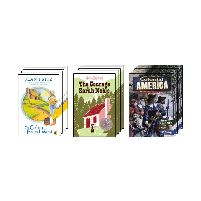 Colonial America - Narrative Nonfiction & Historical Fiction: Variety Pack