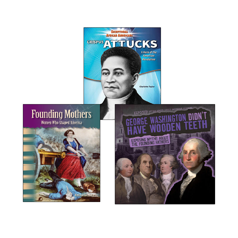 Revolutionary America - Biographies: Variety Pack