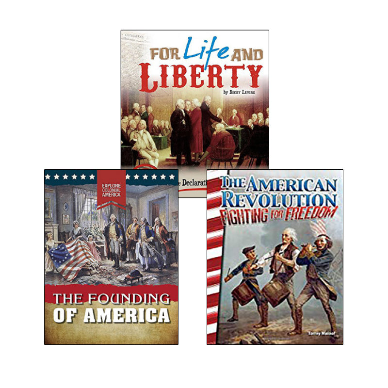 Revolutionary America - Informational Texts: Variety Pack