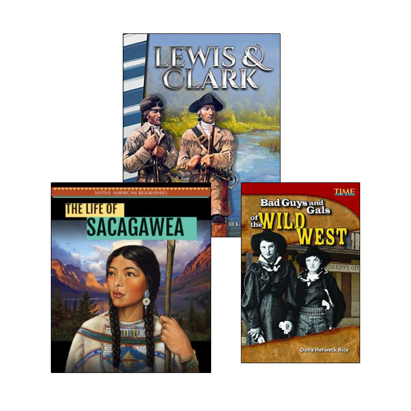 Westward Expansion - Biographies: Variety Pack