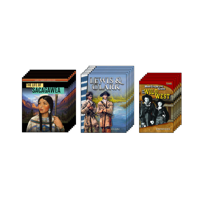 Westward Expansion - Biographies: Class Pack