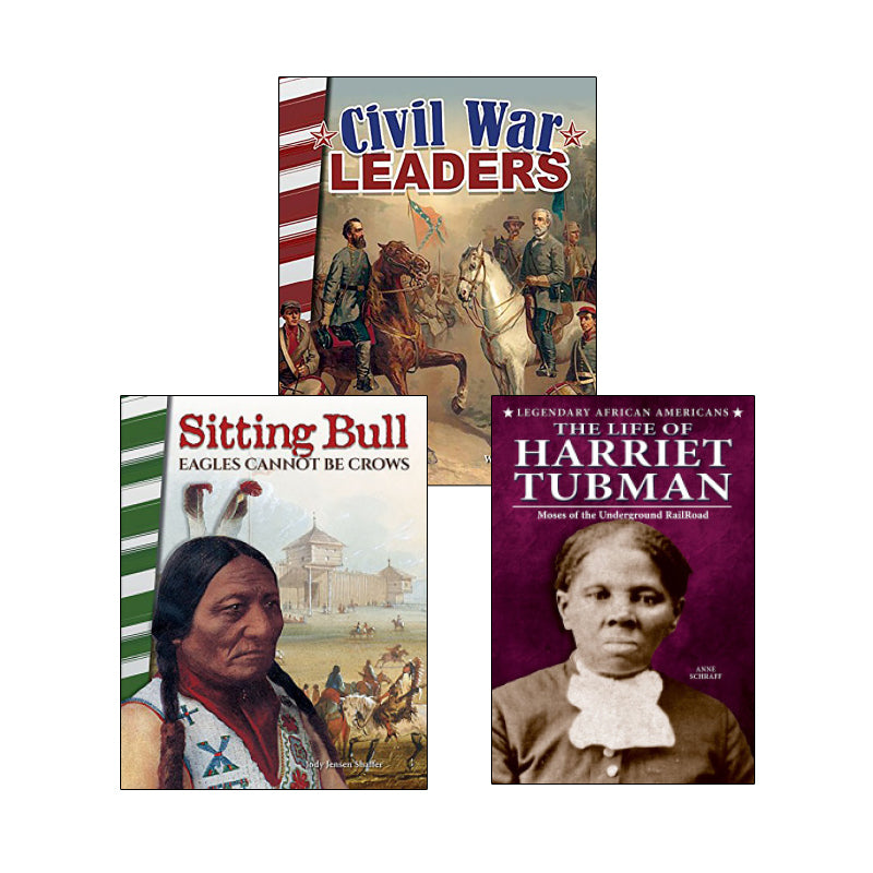 American Civil War & Reconstruction - Biographies: Variety Pack