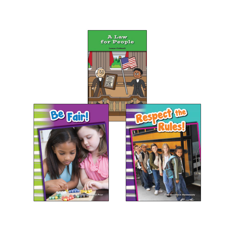 Rights and Rules- Grades K-1: Variety Pack