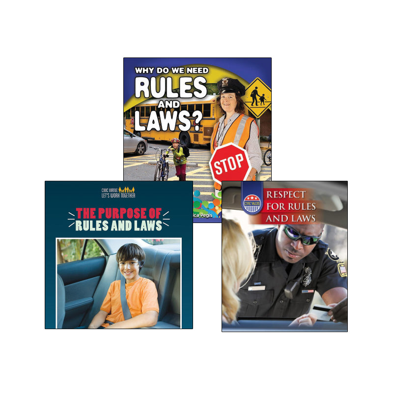 Rights and Rules- Grades 2-3: Variety Pack