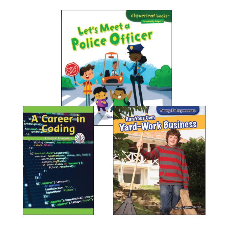 Jobs and Careers- Grades 2-3: Variety Pack