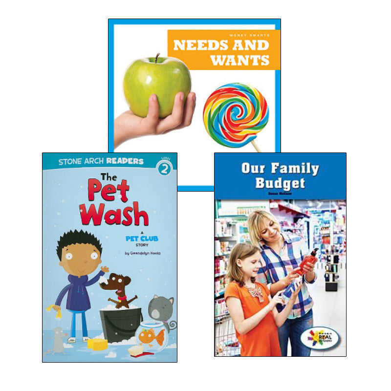 Wants, Needs and You- Grades K-1: Variety Pack