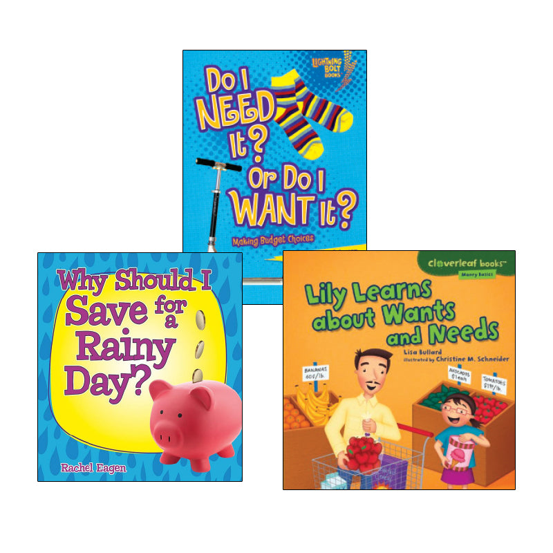 Wants, Needs and You- Grades 2-3: Variety Pack