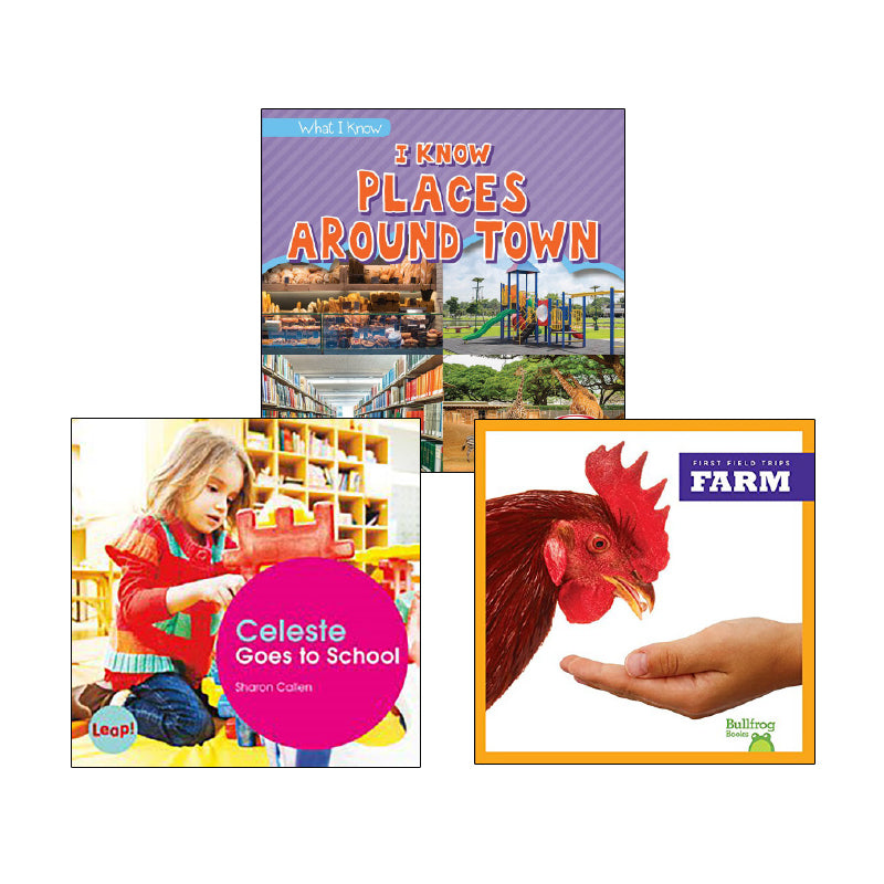 Communities and Neighborhoods- Grades K-1: Variety Pack