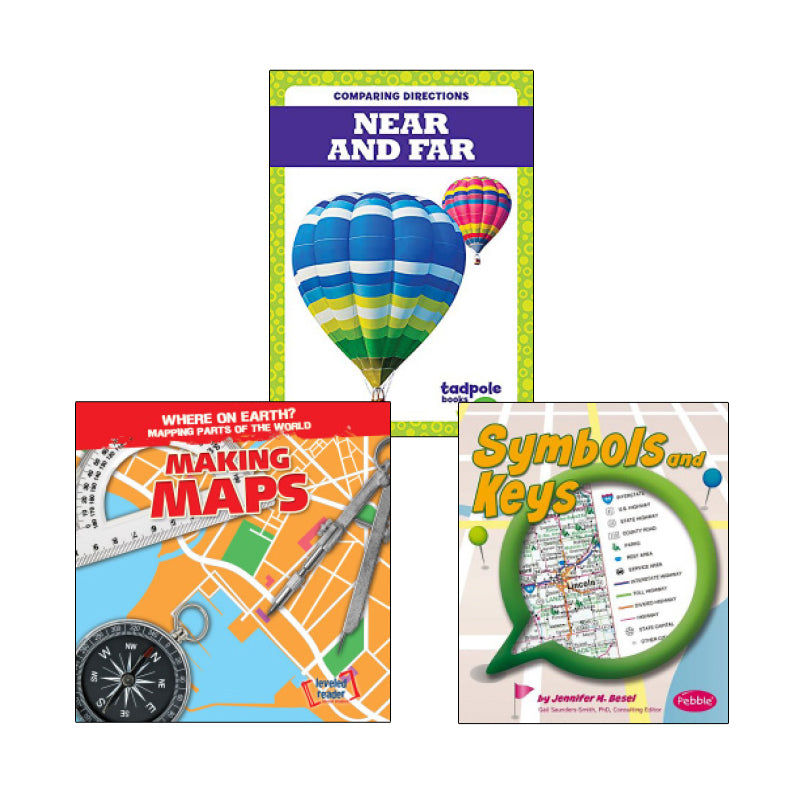 Map Literacy- Grades K-1: Variety Pack