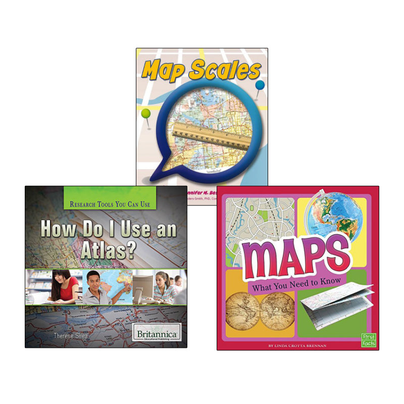 Map Literacy- Grades 2-3: Variety Pack
