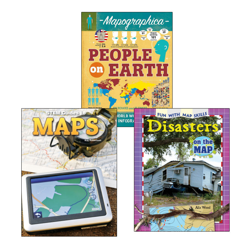 Map Literacy- Grades 4-5: Variety Pack