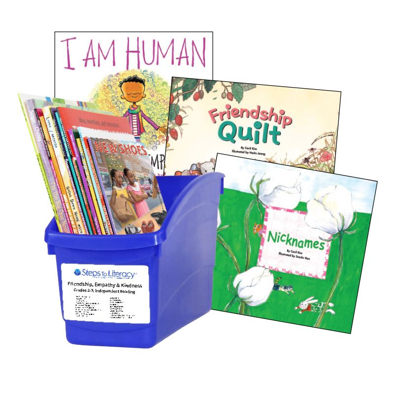 Friendship, Empathy and Kindness - Grades 2-3: Thematic Book Bin