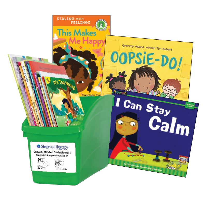 Growth Mindset & Mindfulness - Grades K-1: Thematic Book Bin
