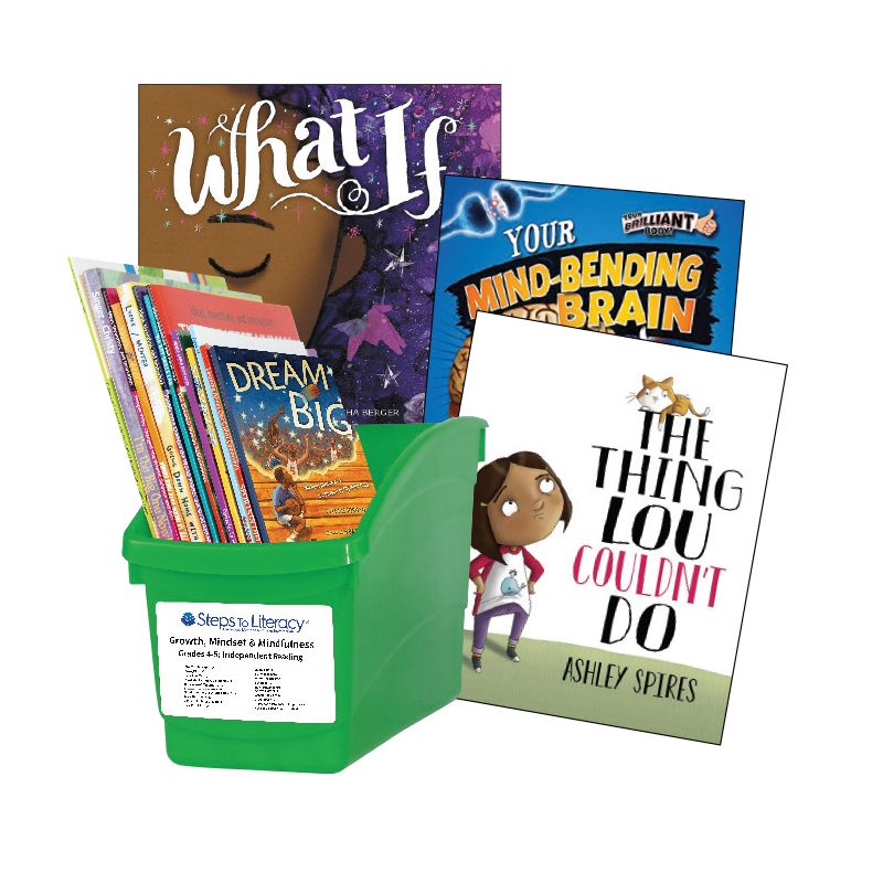 Growth Mindset & Mindfulness - Grades 4-5: Thematic Book Bin