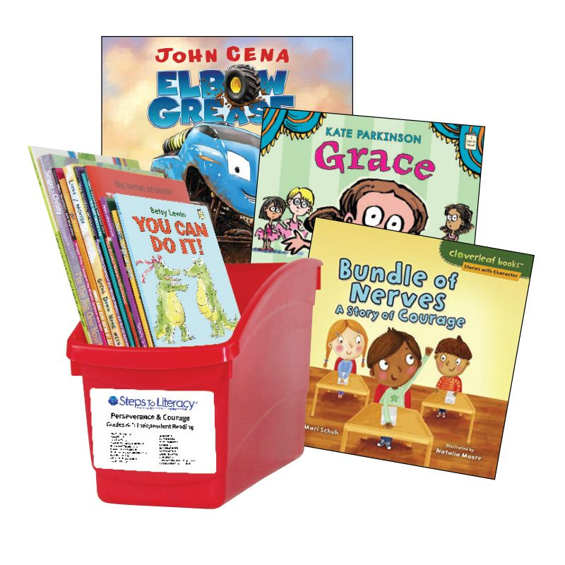Perseverance & Courage 2019  - Grades K-1: Thematic Book Bin