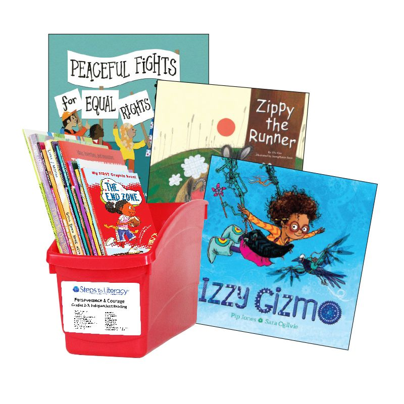Perseverance & Courage - Grades 2-3: Thematic Book Bin