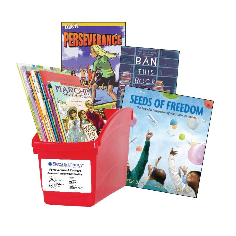 Perseverance & Courage - Grades 4-5: Thematic Book Bin