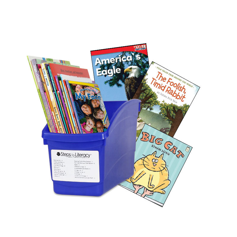 Choice & Voice Classroom Library Complete Set - Kindergarten - English: Classroom Library