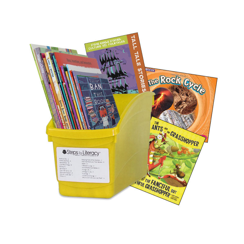 Choice & Voice Classroom Library Complete Set - Grade 4 - English: Classroom Library
