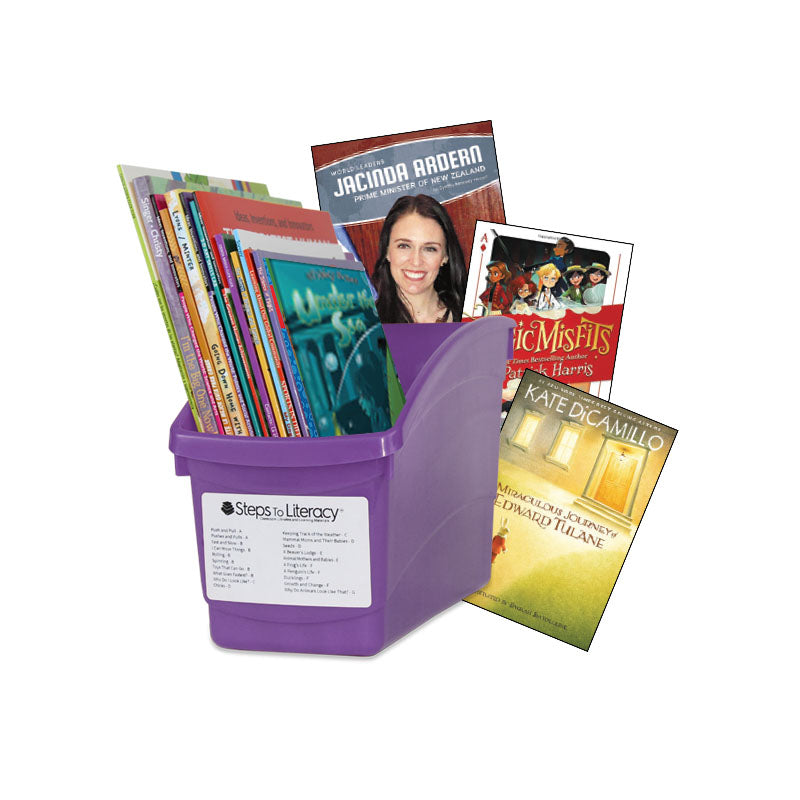 Choice & Voice Classroom Library Complete Set - Grade 5 - English: Classroom Library