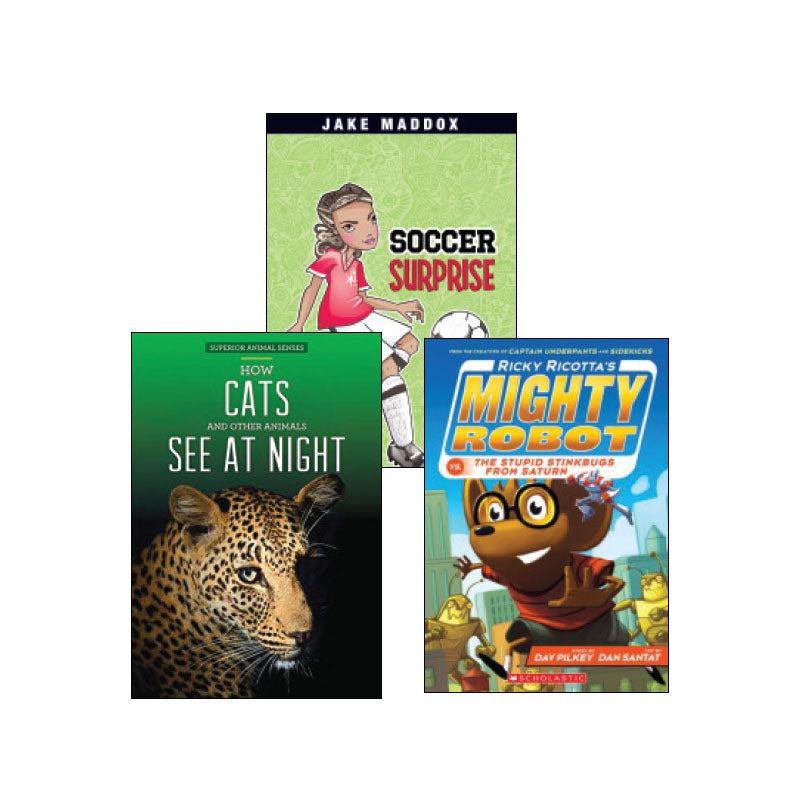 Striving Readers Grade 4: Variety Pack
