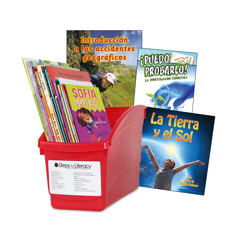Spanish Balanced Literacy Independent Reading - 3rd Grade: Classroom Library
